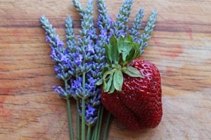 strawberry-lavender