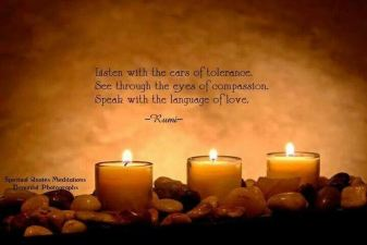 Rumi quote on love